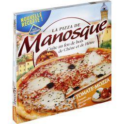 Pizza mozzarella tomate basilic