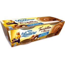Tourbillon de mousse chocolat lait caramel & noisett...