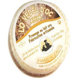 Lo vedel d'oc Petit vache affiné Barquette de 160 gr