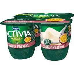 Activia - Lait fermenté saveur passion