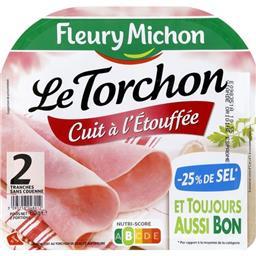 Le Torchon - Jambon sans couenne cuit à l'étouffée -...
