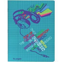 Créative - Cahier 17x22cm Seyes, modèle assorti