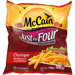 Just au Four - La frite classique moelleuse et crous...