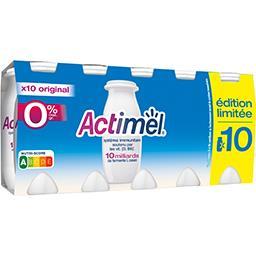 Actimel - Spécialité laitière fermenté à boire goût frais & unique