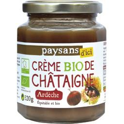 Crème BIO de châtaigne Ardèche