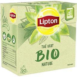 Lipton Thé vert BIO nature
