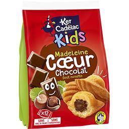 Kids - Madeleine cœur chocolat