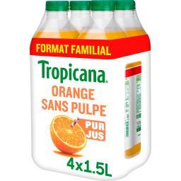 Tropicana Tropicana Pure Premium - Jus d'orange sans pulpe 100% pur jus