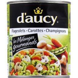 Trio flageolets, carottes & champignons