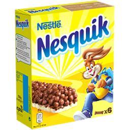 Nesquik - Barres de céréales au chocolat