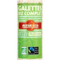 Galettes de riz complet BIO