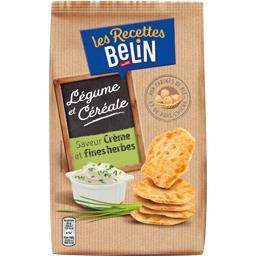 Crackers Les Recettes aux pois chiches crème & fines herbes