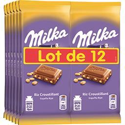 Chocolat au lait riz croustillant