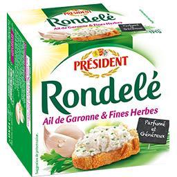 Fromage à l'ail de Garonne & fines herbes