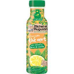 L'Incroyable thé vert aux citrons et larme de menthe