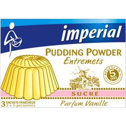Pudding Powder sucré parfum vanille