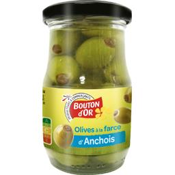Olives vertes à la farce d'anchois