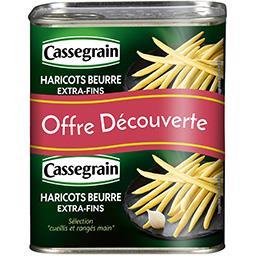 Cassegrain Haricots beurre