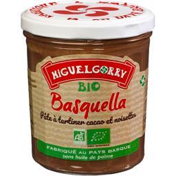 Pâte à tartiner cacao et noisettes Basquella BIO
