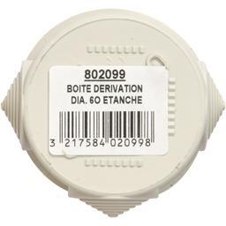 Boite dérivation 60mm étanche réf : 802099