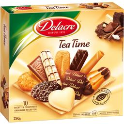 Tea Time - Assortiment de 10 variétés de biscuits