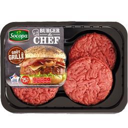 Burger du Chef grillé 15%