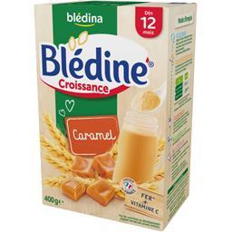 Blédine Croissance - Céréales instantanées caramel, ...