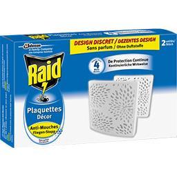 Plaquettes décor anti-mouches