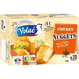 Nuggets aux filets de poulet