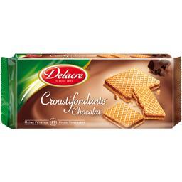 Gaufrettes fourrées Croustifondante chocolat