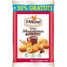 Madeleines pépites chocolat St Michel
