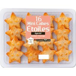 Mini cakes Etoiles jambon fromage