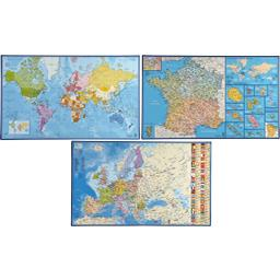 Sous-main geographie