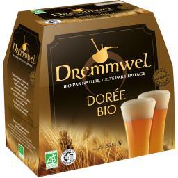 Bière dorée BIO