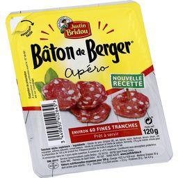 Le Bâton de Berger - Saucisson sec Les Fines Tranche...