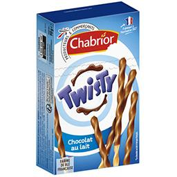 Biscuits Twisty chocolat au lait