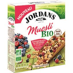 Muesli superfruits & graines BIO