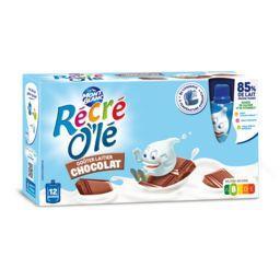 Récré O'lé - Goûters laitiers chocolat