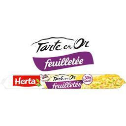 Tarte en Or - Pâte feuilletée -30% MG