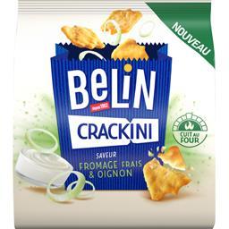Crackini fromage frais et oignon BELIN 80g