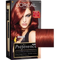 Feria Préférence - Coloration permanente rouge intense P46