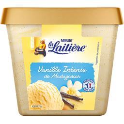 Nestlé La Laitière Crème glacée vanille gousses infusées de Madagascar