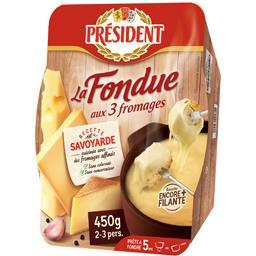 La Fondue aux 3 fromages