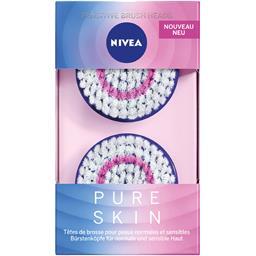 Têtes de brosse Pure Skin peaux normales et sensibles