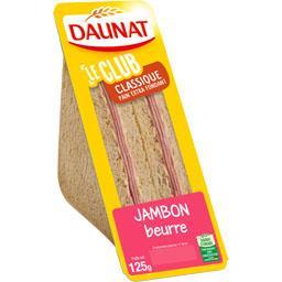 Le Club - Sandwich Classique jambon beurre