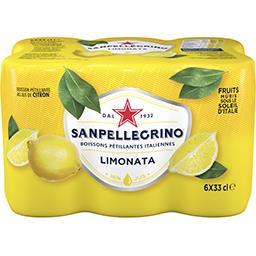 Boisson pétillante Limonata