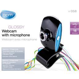 Webcam avec microphone 16 M pixels