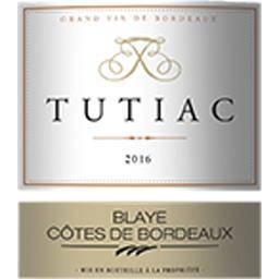 Blaye Cotes de Bordeaux Tutiac, vin rouge