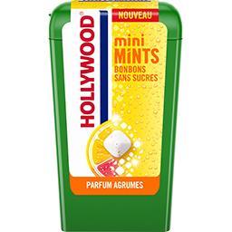 Mini Mints bonbons sans sucres parfum agrumes