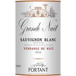 Vin de pays d'Oc sauvignon blanc, vin blanc
